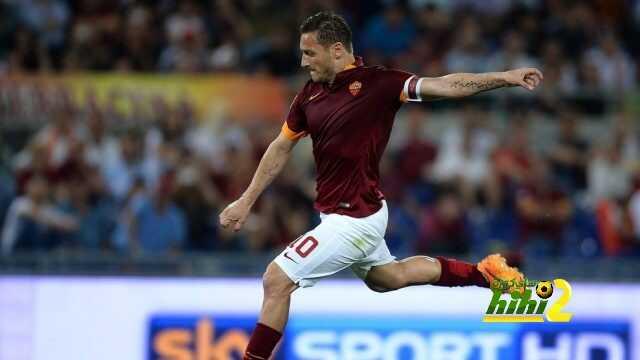 ارقام توتي في اخر 13 مباراة بالدوري الإيطالي coobra.net