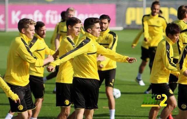 دورتموند يختتم استعداداته لمواجهة ريال مدريد coobra.net