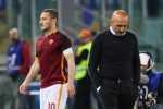 Roma, lite Totti-Spalletti dopo gara con Atalanta