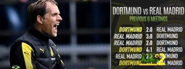 صورة : تعرف على نتائج مباريات دورتموند وريال مدريد الأخيرة ! coobra.net