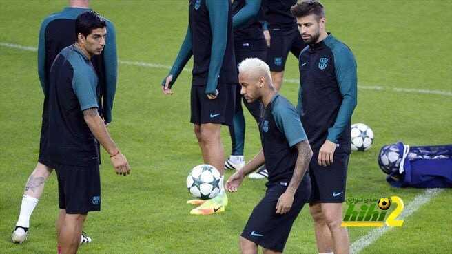 صور : تدريبات برشلونة في ملعب بوروسيا بارك استعدادا لمونشنغلادباخ coobra.net