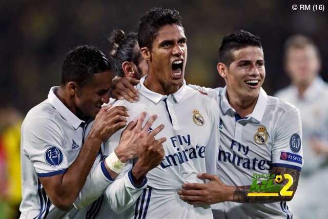 صور : أبرز لقطات لاعبي ريال مدريد بالمباراة coobra.net