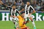 during the UEFA Champions League match between Juventus FC and Sevilla FC at Juventus Stadium on September 14, 2016 in Turin, .