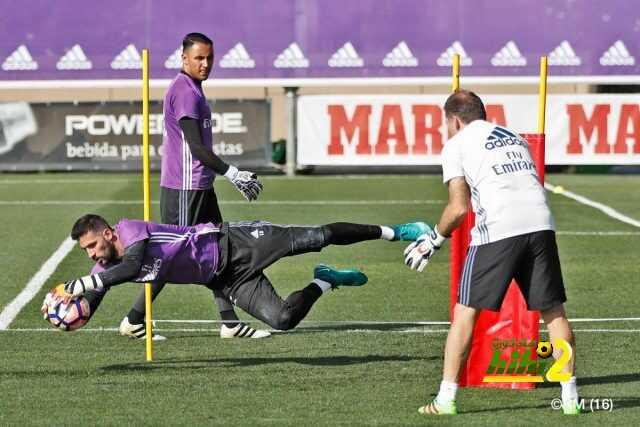 صور : استعدادات ريال مدريد لمواجهة إيبار coobra.net