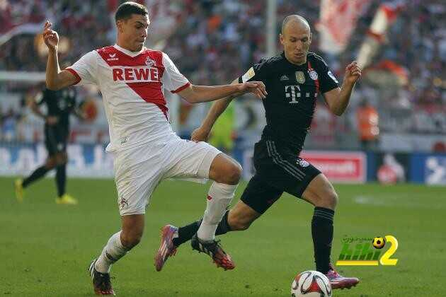 بايرن ميونيخ له الأفضلية في المباريات المباشرة ضد كولن coobra.net