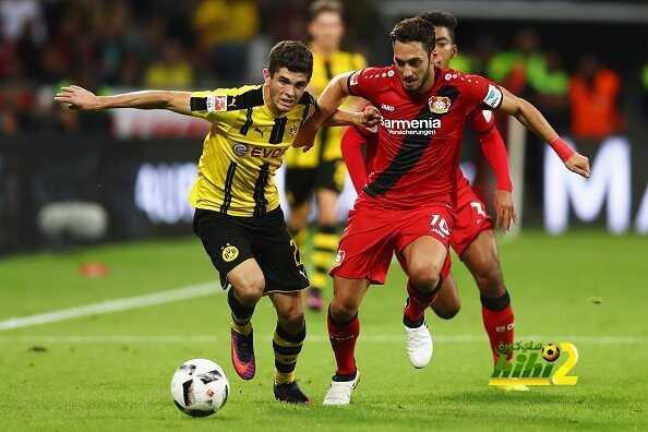 هاكان أفضل لاعب في مباراة دورتموند وليفركوزن ! coobra.net