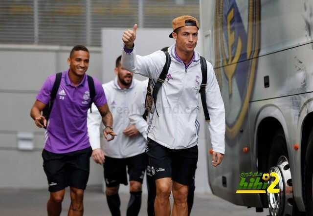 صور : ريال مدريد يتجه للمدينة الرياضية استعدادا لمواجهة إيبار coobra.net