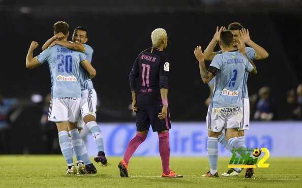سيلتا فيغو ثاني أكثر فريق تسجيلا للأهداف في شباك برشلونة coobra.net