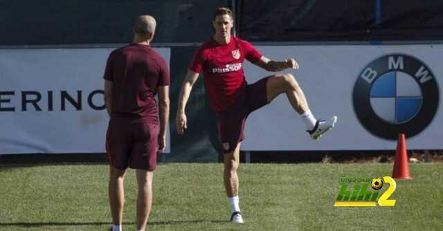 توريس يبدأ التدرب رفقة اتليتكو مدريد coobra.net