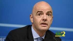 بالفيديو : رئيس الفيفا يشارك في مباراة ودية coobra.net