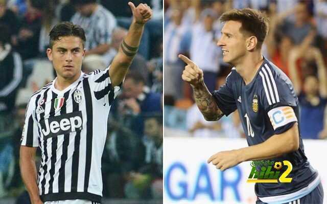 الصحف الإيطالية تؤكد بأن ميسي يضغط على ديبالا من أجل إختيار برشلونة ! coobra.net