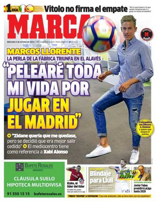 الماركا ? سأحارب طيلة حياتي لألعب بريال مدريد ? coobra.net