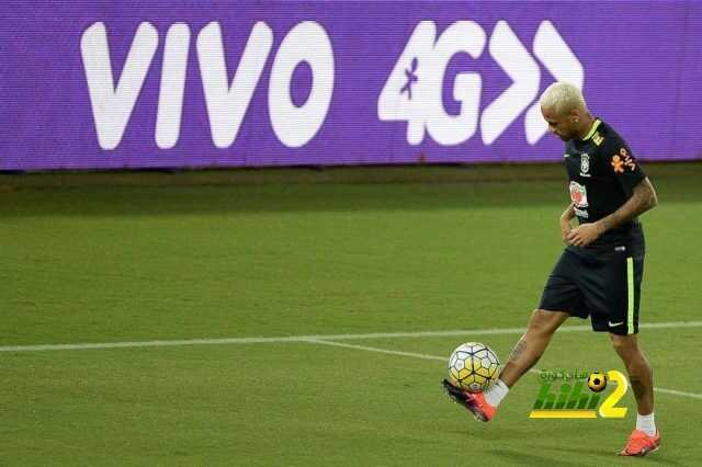 صور : استعدادات نيمار رفقة منتخب البرازيل لتصفيات كأس العالم coobra.net