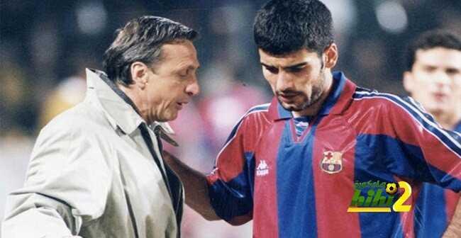 في سيرته الذاتية.. كرويف: جوارديولا ?اللاعب? كاد أن يرحل عن برشلونة ولكن! coobra.net