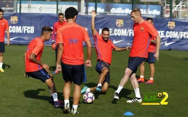برشلونة يواصل الاستعداد لمواجهة الديبور في غياب الدوليين coobra.net