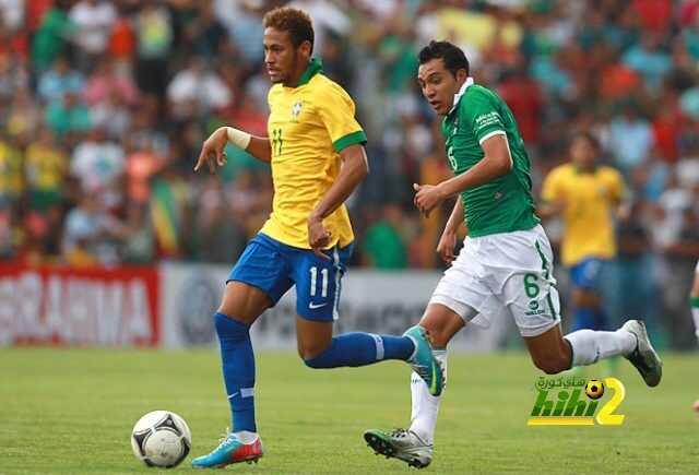 البرازيل تهيمن على بوليفيا في المواجهات المباشرة coobra.net