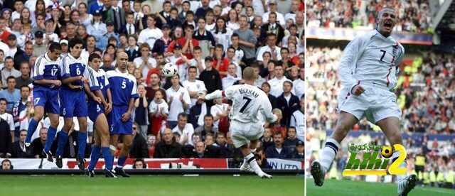 15 عاما مرت على تحول بيكهام لقديس في قلوب عشاق منتخب إنجلترا ! coobra.net
