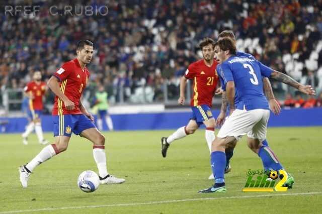 فيتولو يسجل هدف التقدم للمنتخب الإسباني ضد إيطاليا ! coobra.net