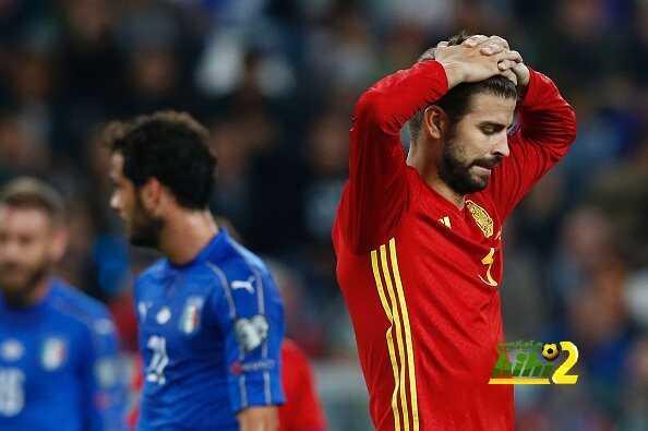 أسبانيا تفشل في الفوز على ايطاليا للمباراة الثالثة على التوالي coobra.net