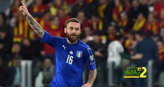 إيطاليا لاتخسر عندما يسجل دي روسي coobra.net