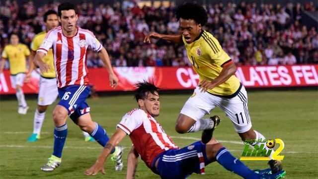 كولومبيا تخطف فوزا قاتلا من ملعب البارجواي بتصفيات كأس العالم ! coobra.net
