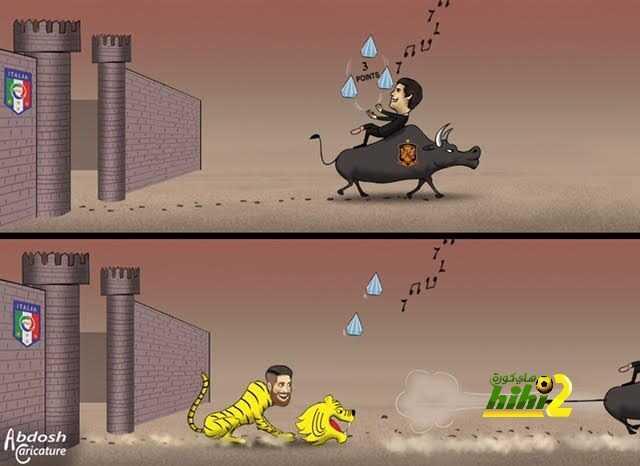كاريكاتير هاي كورة .. راموس ينتزع من لوبيتجي نقاط الفوز من بوابة تورينو ! coobra.net