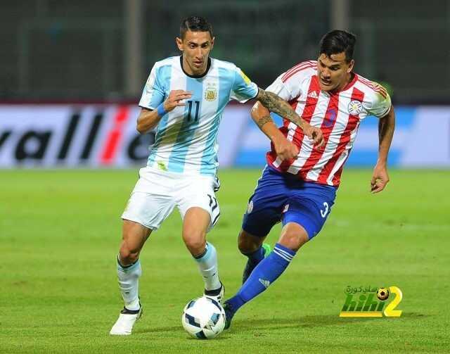 باراغواي تسجل هدف التقدم مبكرا ضد الأرجنتين ! coobra.net
