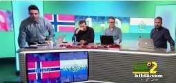 بالفيديو : التليفوزين النرويجي يستشيط غضباً عقب استقباله لهدف coobra.net