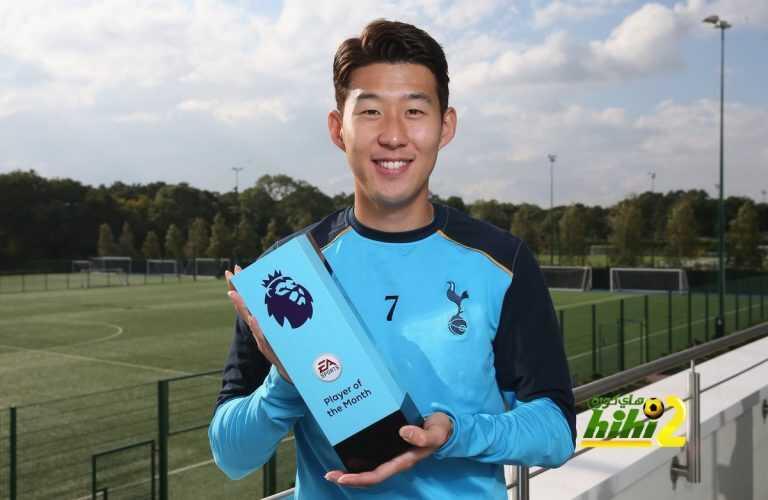رسميا : هيونغ مين سون يفوز بجائزة لاعب الشهر coobra.net