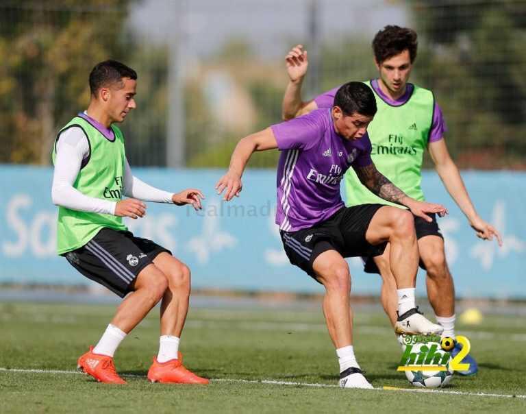 صور : اجواء رائعة في تدريبات ريال مدريد اليوم coobra.net