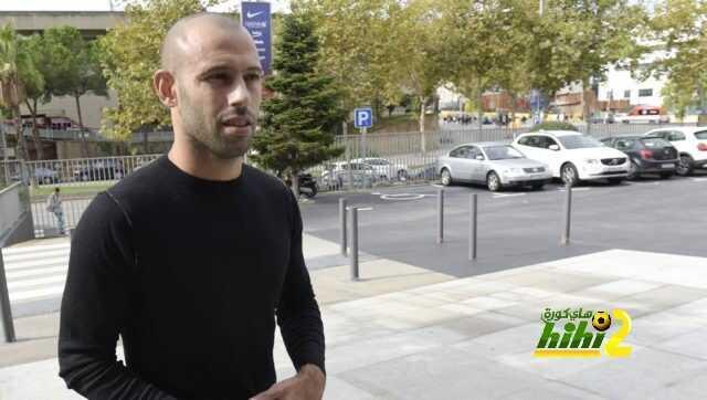 صورة : ماسكيرانو يصل لمكاتب برشلونة تمهيدا لتوقيع عقده الجديد coobra.net